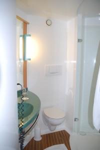 Ibis Alsterring Badezimmer
