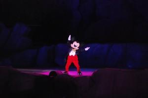 Mickey Maus in Fantasmic