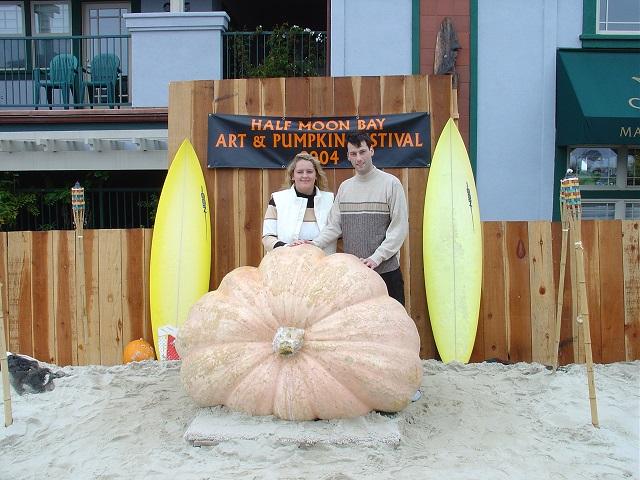 Pumpkin Half Moon Bay