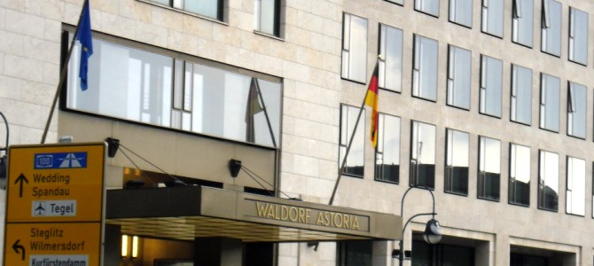 Waldorf-Astoria Hotel in Berlin